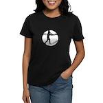Baseball Hitter Women's Dark T-Shirt