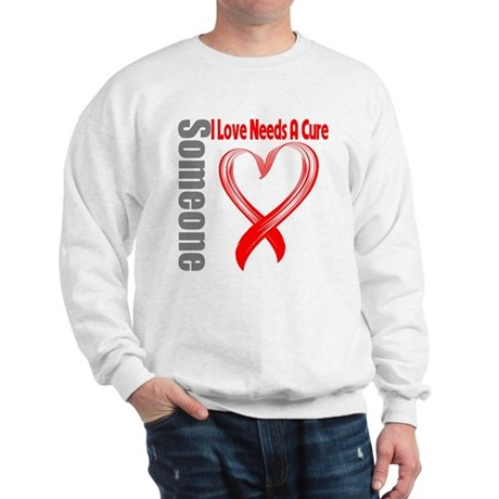 Blood Cancer Needs A Cure Sweatshirt