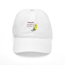 Honey Grandpa To Be Baseball Cap