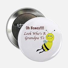 "Honey Grandpa To Be 2.25"" Button"