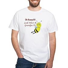 Honey Grandpa To Be Shirt