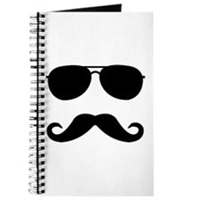 glasses and mustache Journal