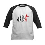 Baseball Evolution Tall Red Kids Baseball Jersey