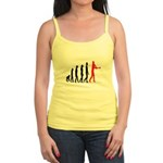 Baseball Evolution Tall Red Jr. Spaghetti Tank
