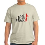Baseball Evolution Tall Red Light T-Shirt