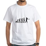 Baseball Evolution White T-Shirt