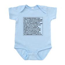 Designer Disclaimer Infant Bodysuit