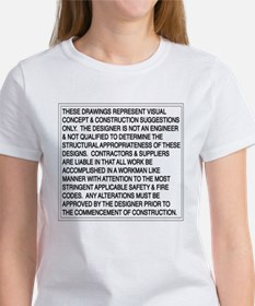 Designer Disclaimer Women's T-Shirt