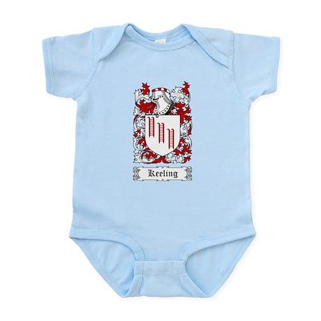 Keeling Infant Bodysuit