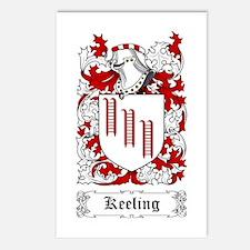 Keeling Postcards (Package of 8)
