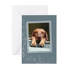 Hungarian Vizsla Card GC004 (blank)