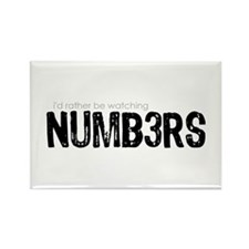 NUMB3RS Rectangle Magnet