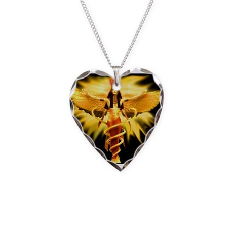 ISIS Necklace Heart Charm