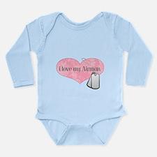 Funny Abu Long Sleeve Infant Bodysuit
