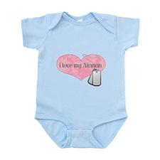 Cute Airman's girlfriend Infant Bodysuit
