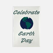 Earth Day Rectangle Magnet