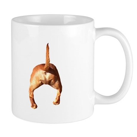 'Tiger Dachshund Dog Heads/Tails Mug