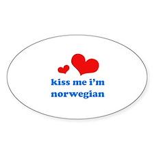 Unique I love norwegian boys Decal