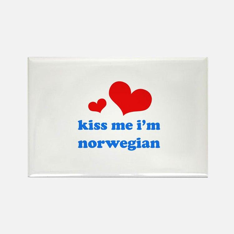 Cute Norwegian girls Rectangle Magnet