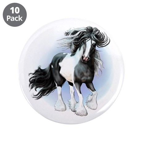 """Prince Charming 3.5"""" Button (10 pack)"""