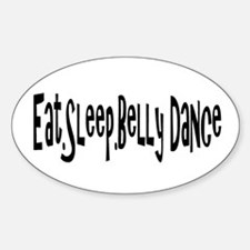 Cute Belly dancer Decal