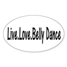 Funny Belly dance Decal