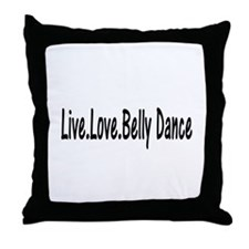 Unique Belly Throw Pillow