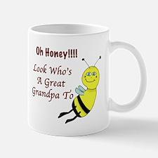 Honey Great Grandpa To Bee Mug