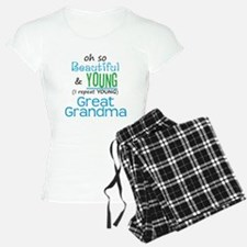 Beautiful and Young Great Gra Pajamas