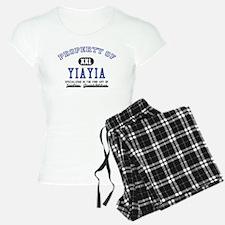 Property of YiaYia Pajamas