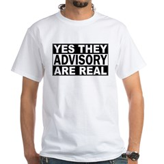 Yes They're Real Advisory Shirt