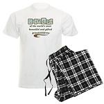 Grandpa of Gifted Grandchildr Men's Light Pajamas