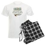 Lolo of Gifted Grandchildren Men's Light Pajamas