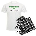 World's Coolest Lolo Men's Light Pajamas