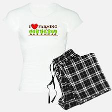 I Heart Farming Pajamas