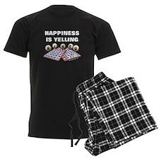 Happiness is Yelling Bingo! Pajamas