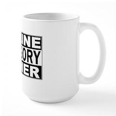 Online Gamer Advisory Mug