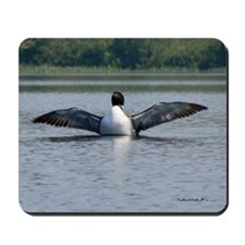 Loon on the Wing Mousepad/Mouse Pad