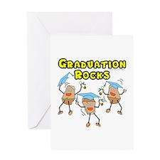 Graduation Rocks Greeting Card