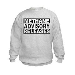Methane Release Advisory Sweatshirt