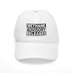 Methane Release Advisory Baseball Cap