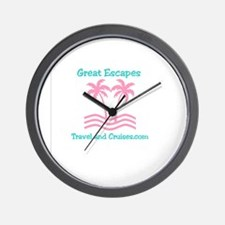Funny Family cruise Wall Clock