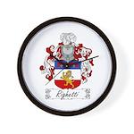 Righetti Family Crest  Wall Clock