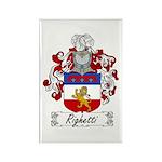 Righetti Family Crest Rectangle Magnet (100 pack)