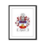 Righetti Family Crest  Framed Panel Print