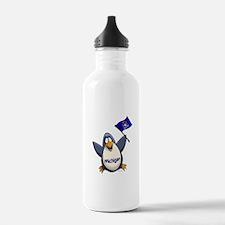 Michigan Penguin Water Bottle