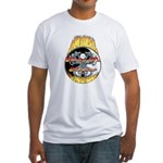 Kung Fu Master Fitted T-Shirt
