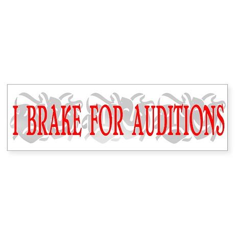 Auditions Sticker (Bumper)