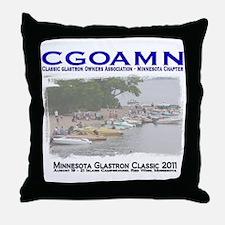 Unique Glastron Throw Pillow