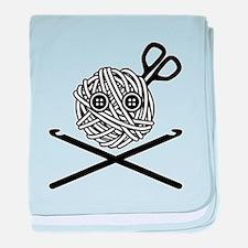 Pirate Crochet baby blanket